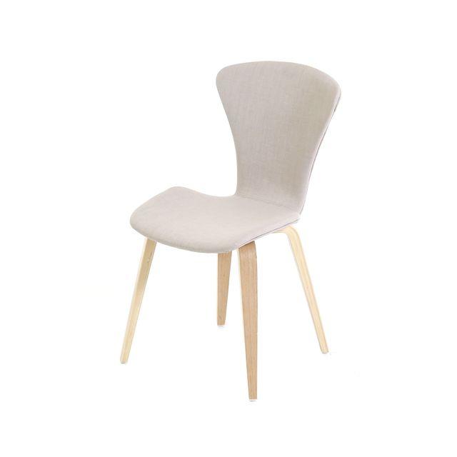 Lebrun Chaise confort grise Hudson