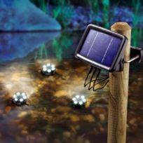 Sunny Trend - Trio de lampe solaire aquatique