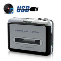 Shopinnov - Lecteur cassette Usb et convertisseur Mp3