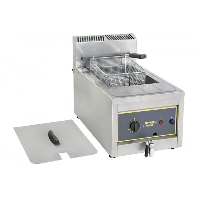 Roller Grill Friteuse Gaz Fri12g - 7kw - 18kg De Frites/h