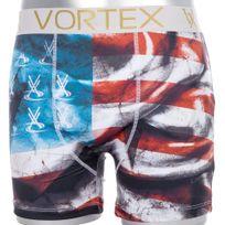 Vortex - Boxer Homme Microfibre Flag Rouge