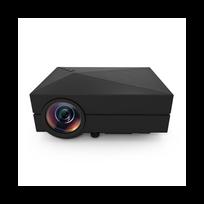 Auto-hightech - Mini projecteur video Lcd 80 Lumens, 1080p, image 130 pouces , Hdmi, Sd