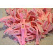 Lotbijouxmontres - Lot de 67 Montres Femme Silicone Rose