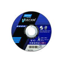 Norton Clipper - Disque de tronconnage Norton VULCAN Ø 115 Epaisseur 1.6 pour Acier / Inox -66252925432
