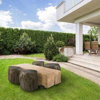 Table jardin rondin - catalogue 2019 - [RueDuCommerce - Carrefour]