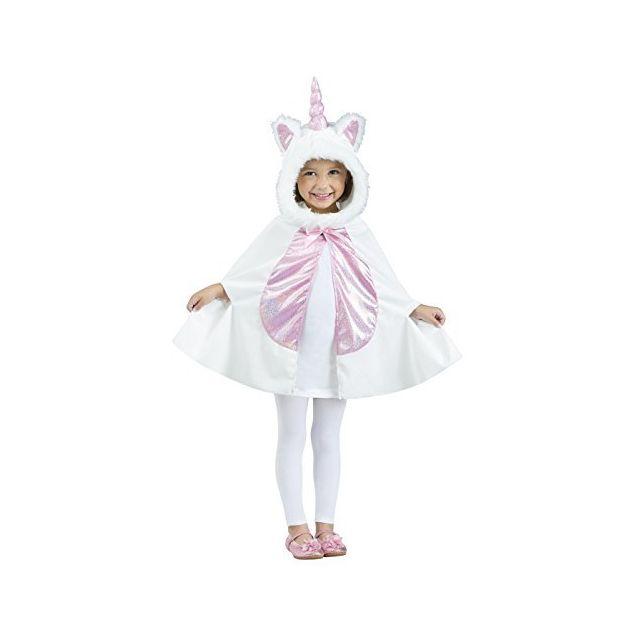 Fun World Unicorn Cape Toddler Costume Large 3T-4T Multicolor