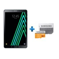Samsung - Galaxy Tab A6 - 10,1'' - 32 Go - Noir + Carte Micro SDXC EVO - 32 Go - MP32GA/EU