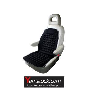 peraline couvre si ge massant relaxant auto camping car pas cher achat vente housses de. Black Bedroom Furniture Sets. Home Design Ideas
