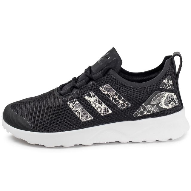 cheap for discount 08809 665b8 Adidas originals - Zx Flux Adv W Print Noir