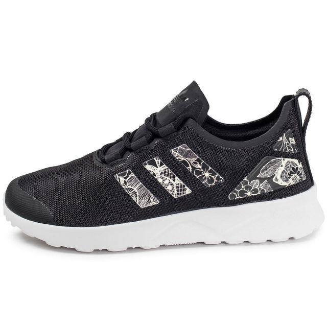 Adidas originals Zx Flux Adv W Print Noir pas cher Achat