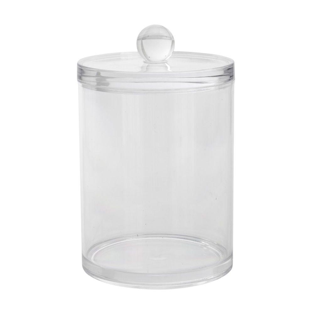 Alinea Ice Pot A Coton Transparent Pas Cher Achat Vente Accessoires De Salle De Bain Rueducommerce