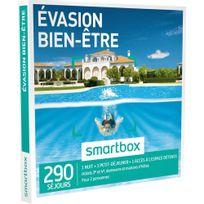 Smartbox - Évasion bien-être - 290 séjours partout en France ou en Europe : maisons d'hôtes, hôtels de 3 à 4 , châteaux, demeures de charme - Coffret Cadeau