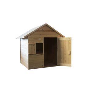 soulet maisonnette en bois brut igor 1 45 x 1 30 x h 1. Black Bedroom Furniture Sets. Home Design Ideas