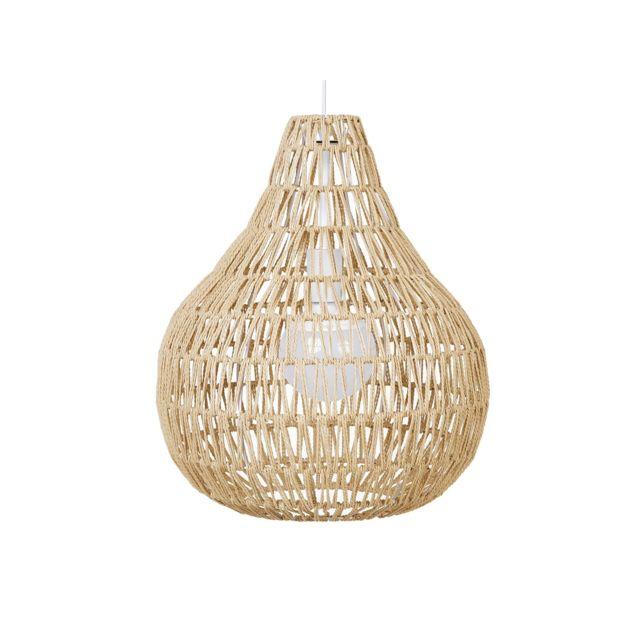 BELIANI Lampe suspension beige MOLOPO - beige