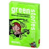 moses. - Verlag - 485 - Jeux De SociÉTÉ Allemand - Black Stories, Green Stories