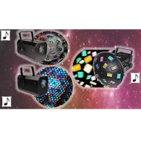Kool Light - Pack 3 jeux : Xl-flower + Led Color 3 + Mushroom
