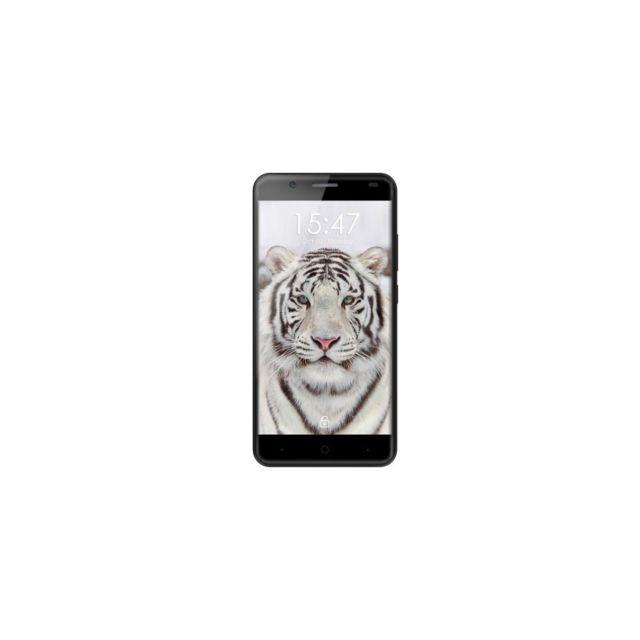 Auto-hightech Smartphone 5,5 pouces 4G, Android 6.0, Quad Core avec Wifi et bluetooth - Gris