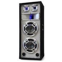 SKYTEC - Enceinte Sono Passive DJ PA 3 Voies 2x20cm 600W