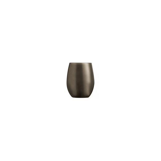 Chef & Sommelier Gobelet forme haute - verre à eau 36cl krysta chocolat - Lot de 6 - Primarific