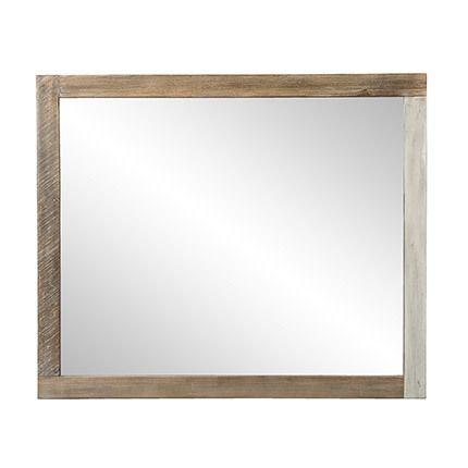 Miroir 120x3x100 cm Danube - bois naturel