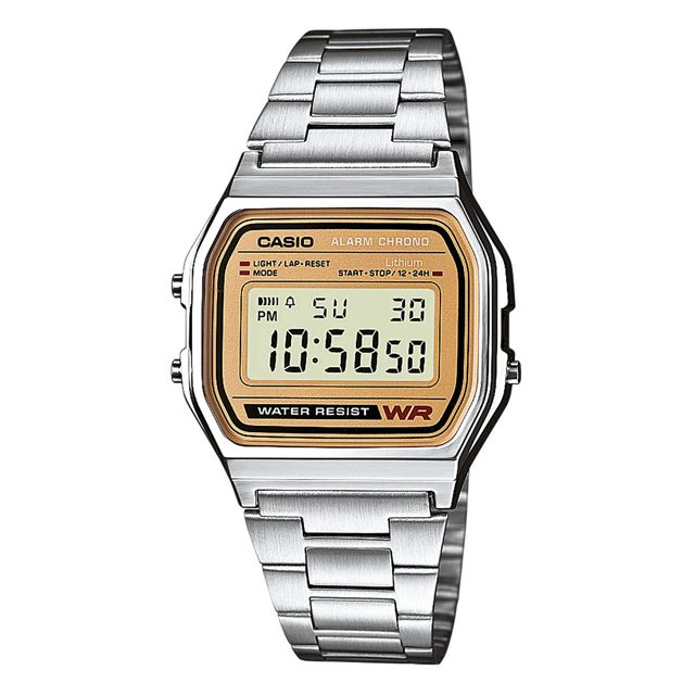 Montre Femme Casio Collection LA680WEA 2BEF Argent Montre