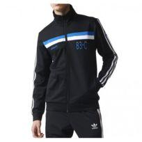 Veste adidas 3 bandes noir - Achat Veste adidas 3 bandes noir - Rue ... 5df7f694f87