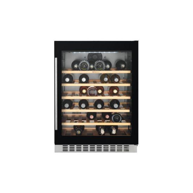 Electrolux Erw1573aoa -cave A Vin De Service-52 Bouteilles-encastrable-froid Brasse-a-l 60 X H 82,2 Cm