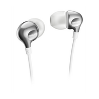 Philips - Ecouteurs intra auriculaire blanc She3700WT