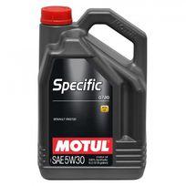 Motul - Huile Moteur Specific 0720 C4 5W30 - Bidon de 5 L
