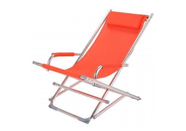 declikdeco avec son mouvement de rocking chair la chaise longue la chaise longue orange. Black Bedroom Furniture Sets. Home Design Ideas