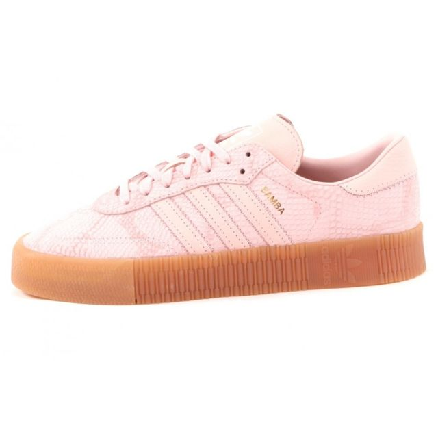 Adidas Baskets mode Originals Sambarose Women pas cher