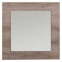 COMFORIUM - Miroir mural décoratif carré 60x60 cm