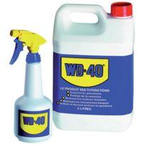 Wd-40 Company - Degrippant Lubrifiant - Type:Bidon + Pulvérisateur - Cond. ml:5000
