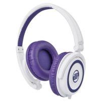 Reloop - Casque Rhp-5 blanc et violet avec micro