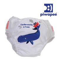 PIWAPEE - Maillot de bain couche cachalot 11-14 kg