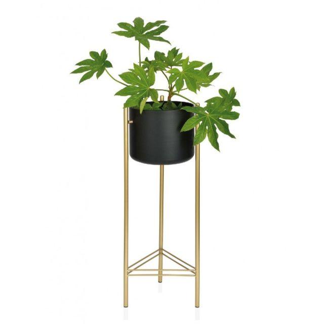 M/étal dor/é Fleur de Fer Support Support innovante Home Mod/èle pour Le Salon D/écoration de Table Fleur Pot de Fleurs Small Bloomma Plante Support