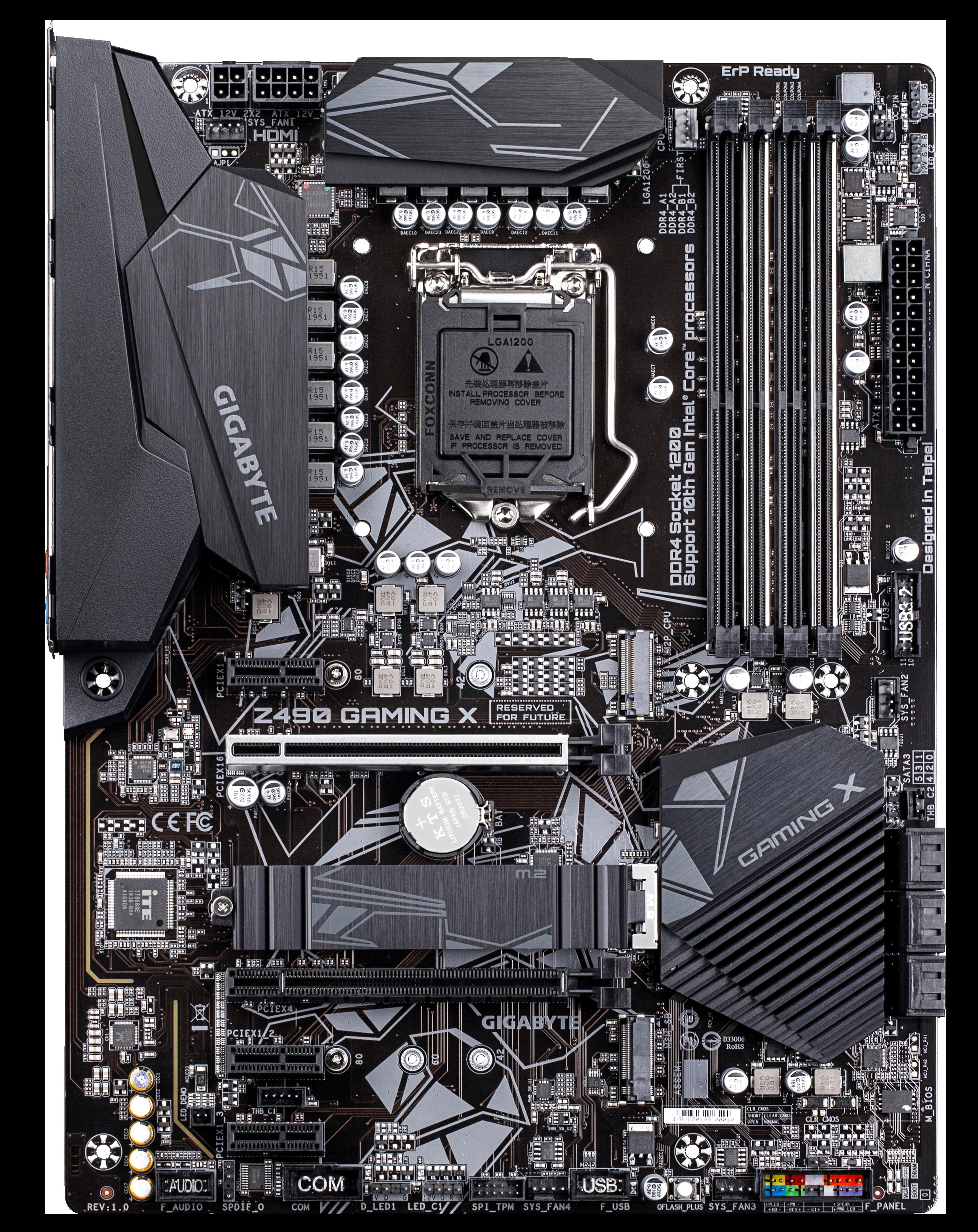 Carte mère Z490 Gaming X Gigabyte