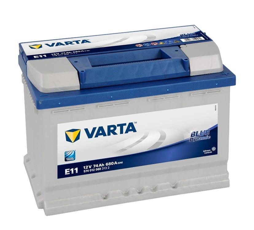 Batterie Blue E11 12V 74ah 680A