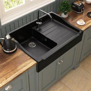 kumbad vier poser granit noir k mbad tamarin 1 bac 1 gouttoir pas cher achat vente. Black Bedroom Furniture Sets. Home Design Ideas