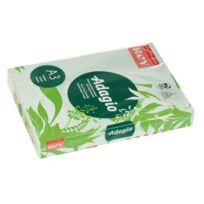 Rey - Ramette papier couleur Adagio couleurs pastel A3 80 gr - 500 feuilles - vert