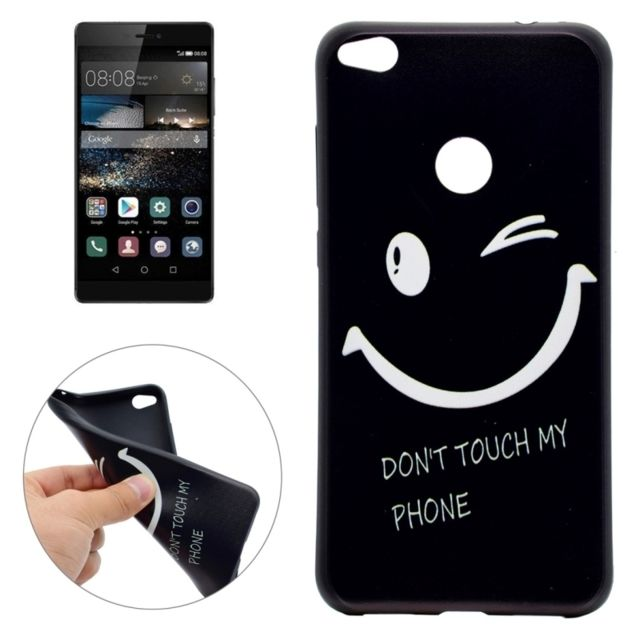coque huawei p8 lite don't touch my phone