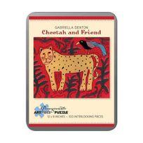 Pomegranate - Gabriella Denton - Cheetah and Friend: 100 Piece Puzzle