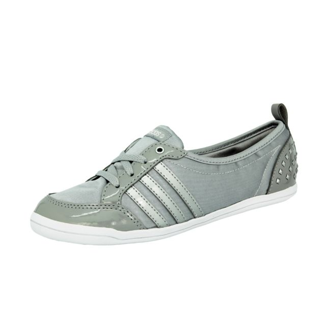 multiple colors new arrive save up to 80% Adidas - Piona W Ballerines Mode Sneakers Femme Gris Argent ...