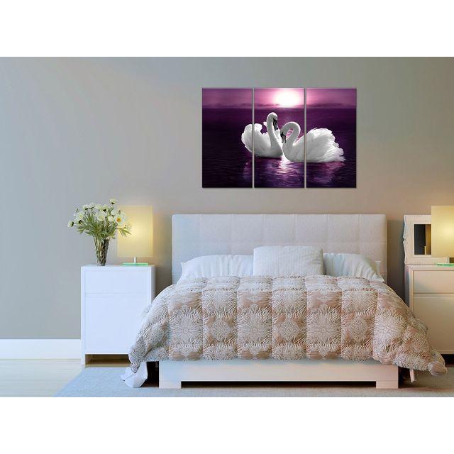 Declina - Tableau triptyque en vente sur - Décoration murale animaux 80cm x 120cm