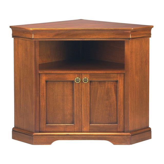 marque generique meuble tv d 39 angle en bois massif 2. Black Bedroom Furniture Sets. Home Design Ideas