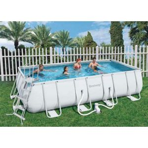 Best way piscine tubulaire rectangulaire power steel frame pool 549 x 274 x 122 cm pas cher for Piscine tubulaire rectangulaire pas chere