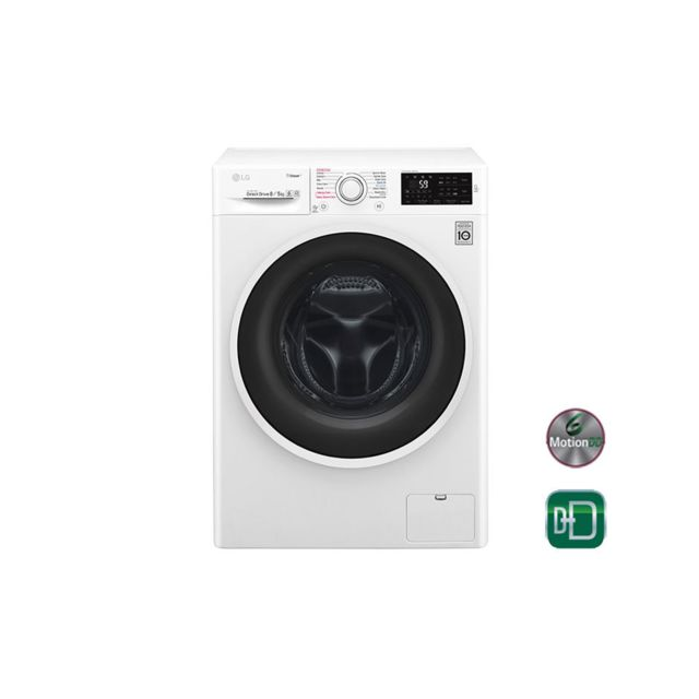 lg lave linge s chant f54c40wr blanc achat lave linge hublot a. Black Bedroom Furniture Sets. Home Design Ideas
