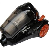 Klaiser - Aspirateur Sans Sac Turbo Confort Bs102 2400W - Equipé d'une poignée ergonomique - Couleur noir