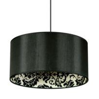 Ks Leuchten - Saparato - Suspension Noir/Baroque Ø40cm | Suspension Spotlight designé par