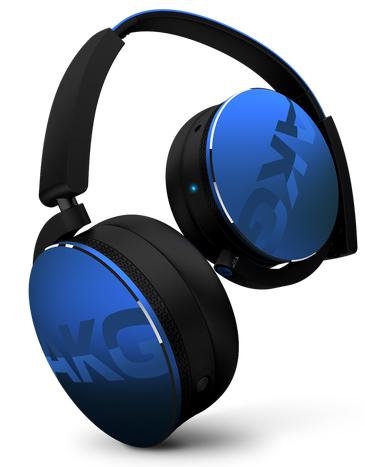 Casque pliable Alu sans fil Y50BTBLU - Bleu